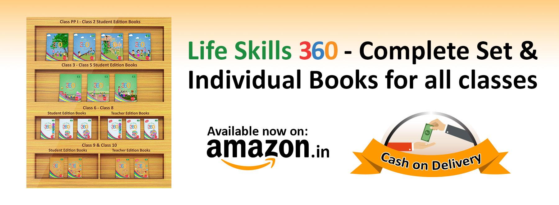 Life Skills 360 Amazon, life SKills, Lifeskills360, Amazon Books,